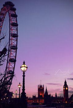 Londres - mauve